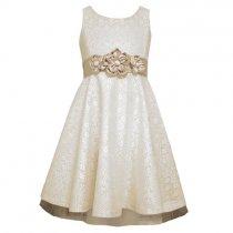 Bonnie Jean アイボリーレースドレス(キッズサイズ)