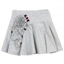 Kate Mack ベルベットフラワーのスカート(ジュニアサイズ)