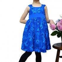 Bonnie Jean ロイヤルブルーのドレス(キッズサイズ)