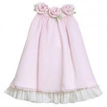 Bonnie Jean パウダーピンクのアメリカンスリーブドレス(トドラーサイズ)