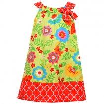 Bonnie Jean フラワープリントのサマードレス(キッズサイズ)