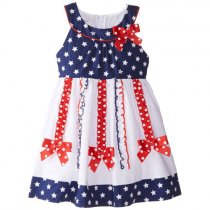 Bonnie Jean スター&リボンのサマードレス(トドラーサイズ)