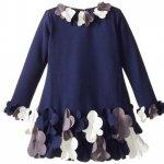 【残り一点!サイズ16のみ】Biscotti ヘムコサージュのワンピースドレス(ジュニアサイズ)