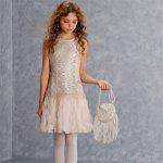 【残り一点!サイズ16のみ】Biscotti ルミナスレースドレス(ジュニアサイズ)