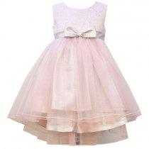 Bonnie Jean ピンクのハイロードレス(トドラーサイズ)