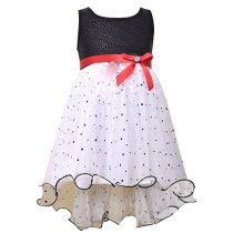 Bonnie Jean バイカラーのハイロードレス(キッズサイズ)