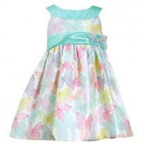 【アウトレット!!】Bonnie Jean バタフライのシマードレス(サイズ5)