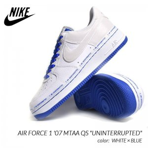 <img class='new_mark_img1' src='https://img.shop-pro.jp/img/new/icons47.gif' style='border:none;display:inline;margin:0px;padding:0px;width:auto;' />日本未発売 NIKE AIR FORCE 1 '07 MTAA QS