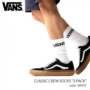 <img class='new_mark_img1' src='https://img.shop-pro.jp/img/new/icons47.gif' style='border:none;display:inline;margin:0px;padding:0px;width:auto;' />VANS CLASSIC CREW SOCKS