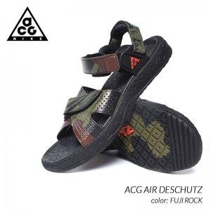 NIKE ACG AIR DESCHUTZ FUJI ROCK ナイキ エーシージー エア デシューツ サンダル ( カモ 迷彩 メンズ CZ3776-001 )