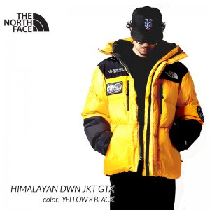 <img class='new_mark_img1' src='https://img.shop-pro.jp/img/new/icons47.gif' style='border:none;display:inline;margin:0px;padding:0px;width:auto;' />THE NORTH FACE HIMALAYAN DWN JKT GTX YELLOW × BLACK ザ ノースフェイス ヒマラヤン ダウンジャケット ( ゴアテックス NFOA3MJB70M )