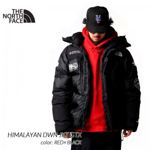 THE NORTH FACE HIMALAYAN DWN JKT GTX BLACK × WHITE ザ ノースフェイス ヒマラヤン ダウンジャケット ( ゴアテックス NFOA3MJBJK3 )