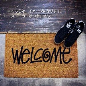 STUSSY WELCOME DOOR MAT BROWN × BLACK ステューシー ウェルカム ドアマット ( 玄関マット 茶 ベージュ s2c-wdmat01 )