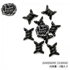 Foxtrot Uniform BARBWIRE DUBRAE 8PACK BLACK フォックストロット ユニフォーム バーブワイヤー デュブレ スニーカー ( 黒 ブラック アクセサリー )