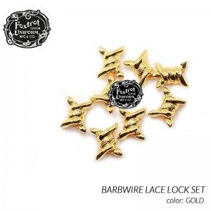 Foxtrot Uniform BARBWIRE DUBRAE 8PACK GOLD フォックストロット ユニフォーム バーブワイヤー デュブレ スニーカー ( 金 ゴールド アクセサリー )