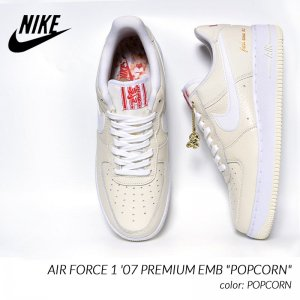 NIKE AIR FORCE 1 '07 PREMIUM EMB