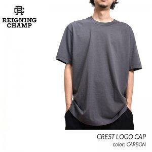 REIGNING CHAMP MIDWEIGHT JERSEY T-SHIRT CARBON レイニングチャンプ ミッドウェイト Tシャツ 半袖 ( レーニングチャンプ グレー RC-1311 )