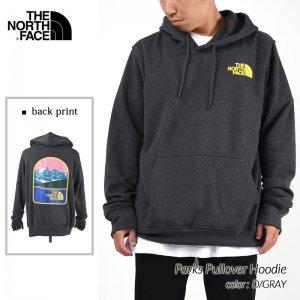 日本未発売 THE NORTH FACE Parks Pullover Hoodie D/GRAY ザ ノースフェイス プルオーバー フーディー ( 海外限定 パーカー NF0A7QNODYZ )