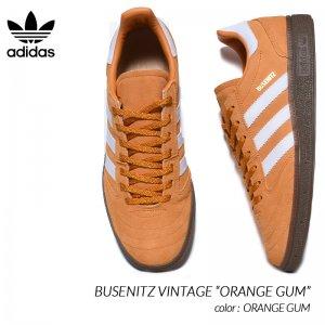 adidas SB BUSENITZ VINTAGE ORANGE × GUM アディダス ブセニツ ヴィンテージ スニーカー ( オレンジ ガムソール メンズ H03347 )