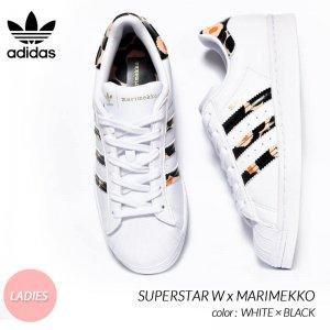 adidas x MARIMEKKO SUPERSTAR W WHITE アディダス × マリメッコ スーパースター レディース スニーカー ( 白 ホワイト ウィメンズ H04076 )