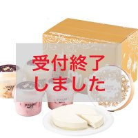 【XM-1】クリスマス・スペシャルヨーグルト&レアチーズケーキセットの商品画像