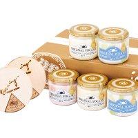 【SY-7ME】メロンの果実入りヨーグルト5本とレアチーズケーキセットの商品画像