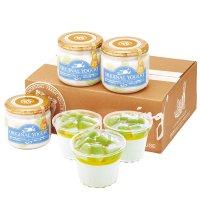【SD-ME】メロンの果実入りヨーグルトとデザートカップセットの商品画像