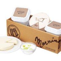 【MR-3ME】メロンの果実入りヨーグルトとレアチーズケーキセットの商品画像