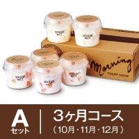 【3ヶ月まとめてAセット】10月〜12月 季節の果実入りヨーグルト6個セットの商品画像