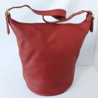 COACH Shoulder Bag バケツ型 RED USA製