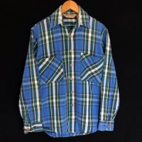 90s FIVE BROTHER Flannel Shirt