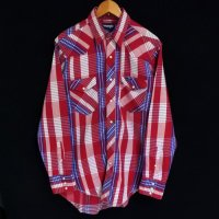 80s Wrangler Cotton Western Shirt