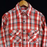 -80s FIVE BROTHER Flannel Shirt