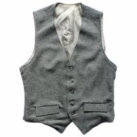 OLD WOOL VEST GRY