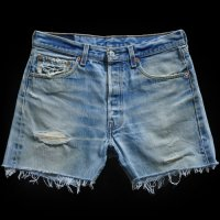 90s Levi's 501 Denim Cut Off PT Regular