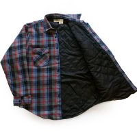 80-90s FIVE BROTHER Flannel Shirt キルティングライナー