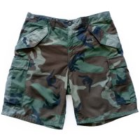 80s US Military Camouflage Half PT
