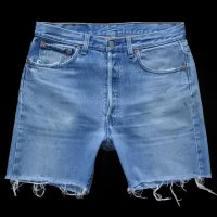 Levi's 501 Denim Cut Off PT USA製