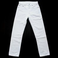 Levi's 501 White Denim PT Regular USA製