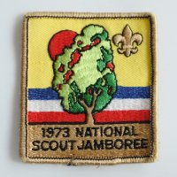 1973 NATIONAL SCOUT JAMBOREE ワッペン