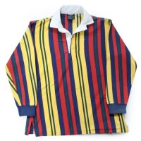 Ralph Lauren Stripe Rugger Shirt Kids USA製