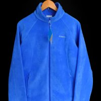 NEW Columbia Fleece Zip JKT BLU
