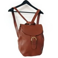COACH Leather Rucksack BRN
