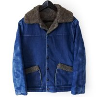 70-80s UNKNOWN Denim Boa Wrange JKT