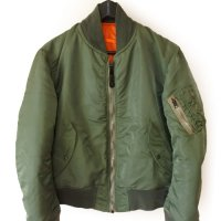 80s ALPHA INDUSTRIES MA-1 Flight JKT
