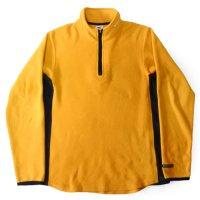 90s NIKE Pullover Fleece YEL/BLK