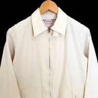 50s McGREGOR Drizzler Jacket WHT USA製