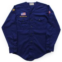 70s- BOY SCOUT No Collar Shirt