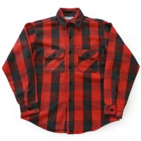 70s FIVE BROTHER Flannel Shirt ブロックチェック USA製