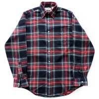 90s L.L. Bean Cotton Check Shirt USA製
